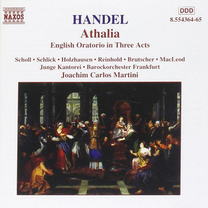Cover Athalia – oratorio in three acts